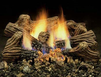 gas logs are a great alternative to wood burning