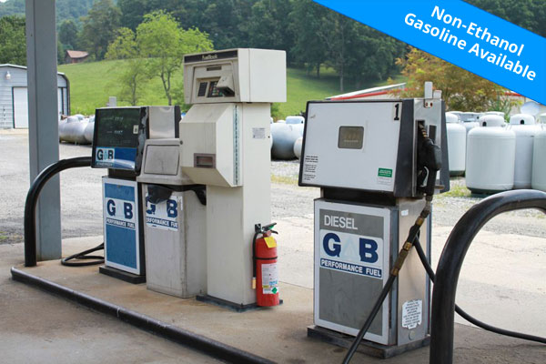 non-ethanol gasoline is available