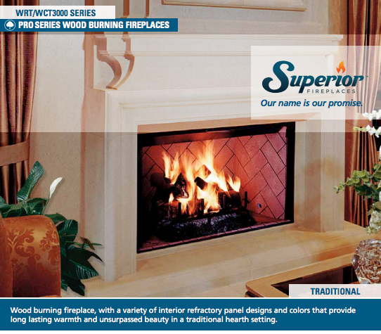 Superior Fireplaces Pro Series link