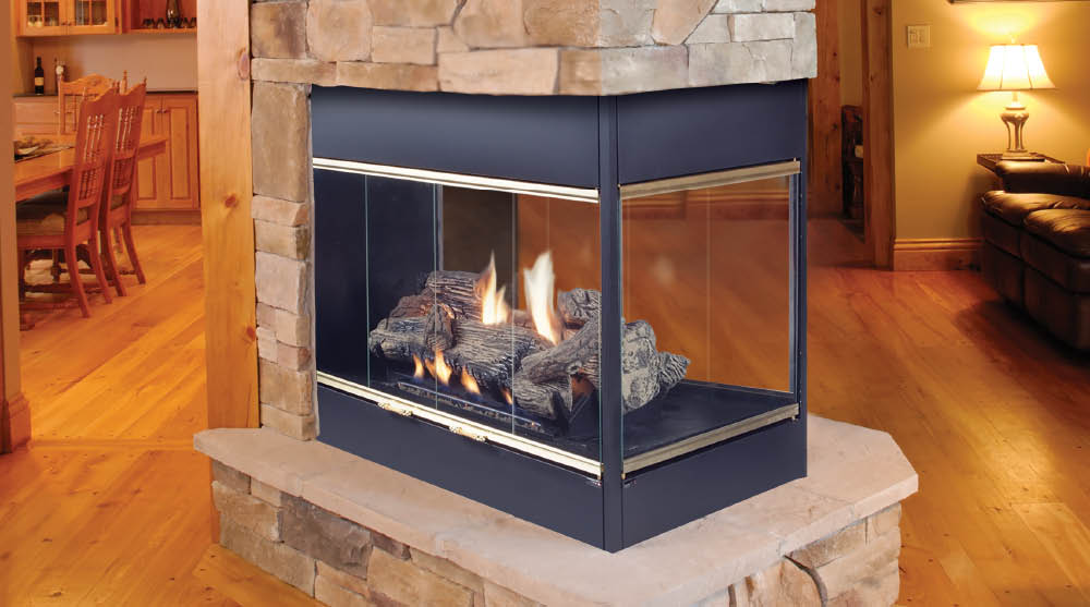 4 Types Of Gas Fireplace Venting Options G B Energy